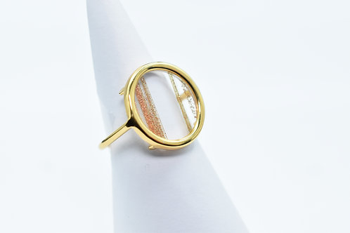 Volta Gold line ring