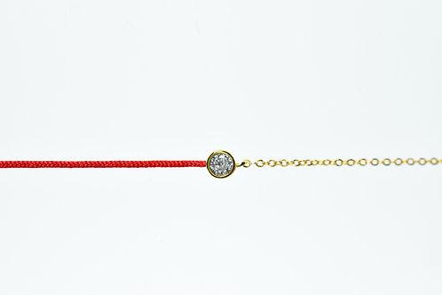 Bracelet Oxyde chaine coton