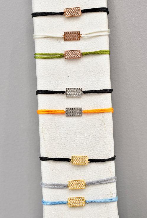 Bracelet Rectangle oxydes
