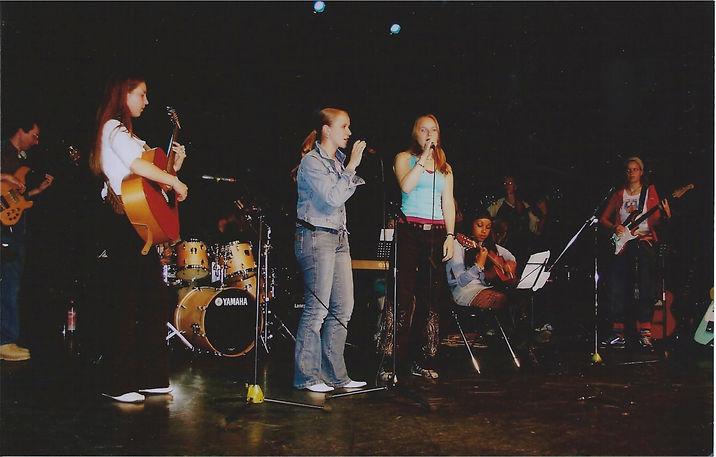 Gitaarles optreden podium Alkmaar