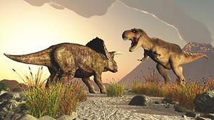 Triceratop e il Tyrannosaurus Rex .png