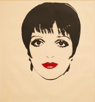 Liza Minelli, 1978 silkscreen on paper, 121,9x111,7cm Private Collection Stefano Pirrone Padua