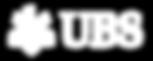 UBS logo bianco