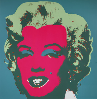 Marilyn, 1967, screen printing on paper, 91x91cm Private Collection Stefano Pirrone Padua