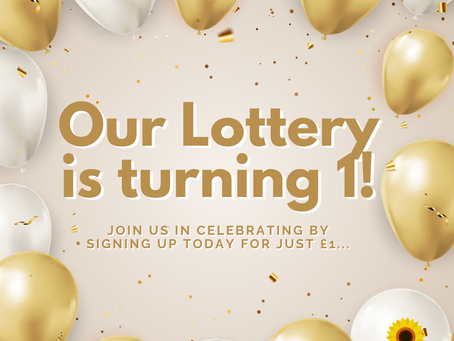 Our lottery turns 1!