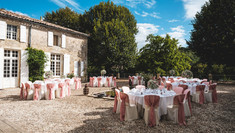 Courtyard Event Setting