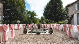 Cadre parfait pour un événement de mariage