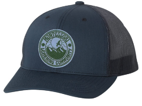 Kids MLC snap-back trucker hat