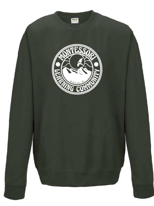 Crew Sweatshirt - olive