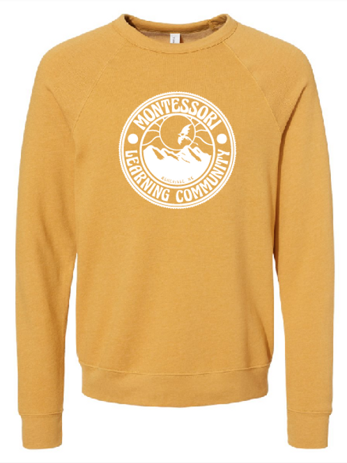 Crew Sweatshirt - heather mustard