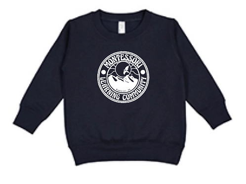 Children's Crew Sweatshirt: Navy