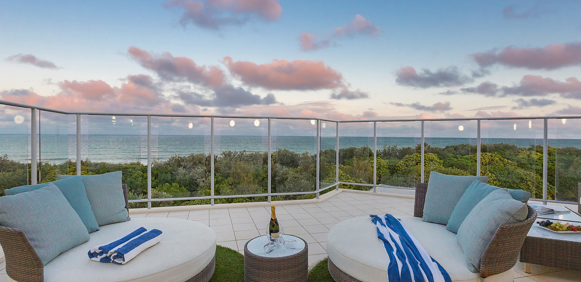 Watch the Sunsets from your Private Roof Top