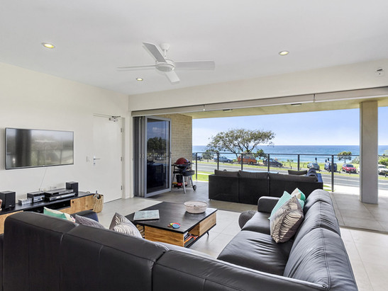 Living Room And The View
