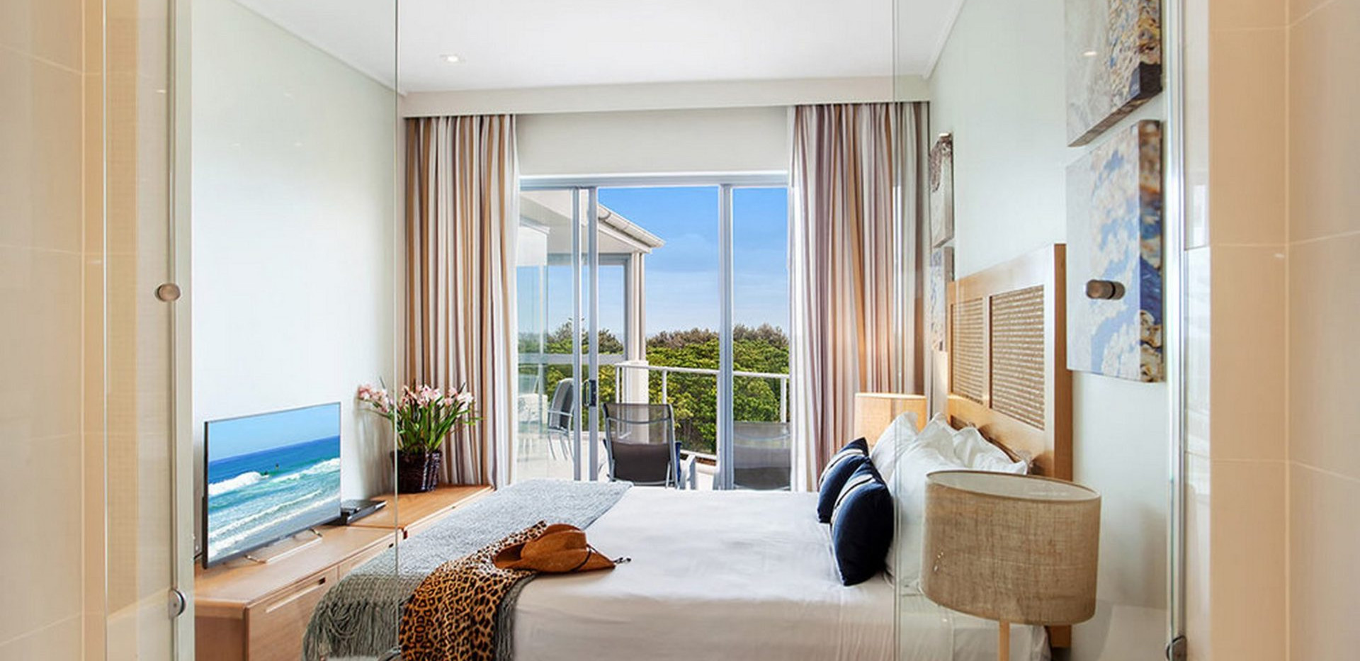 Master Bedroom - View from Spa Bath