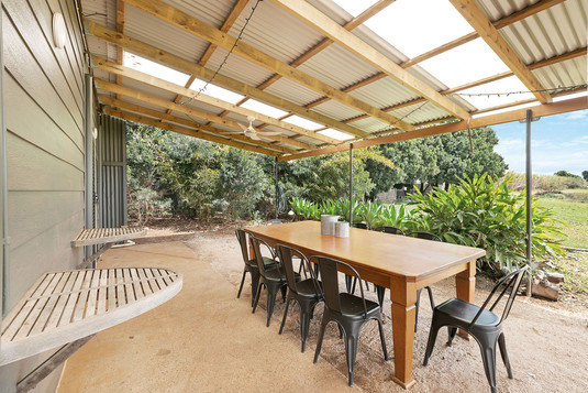 Outdoor Dining option