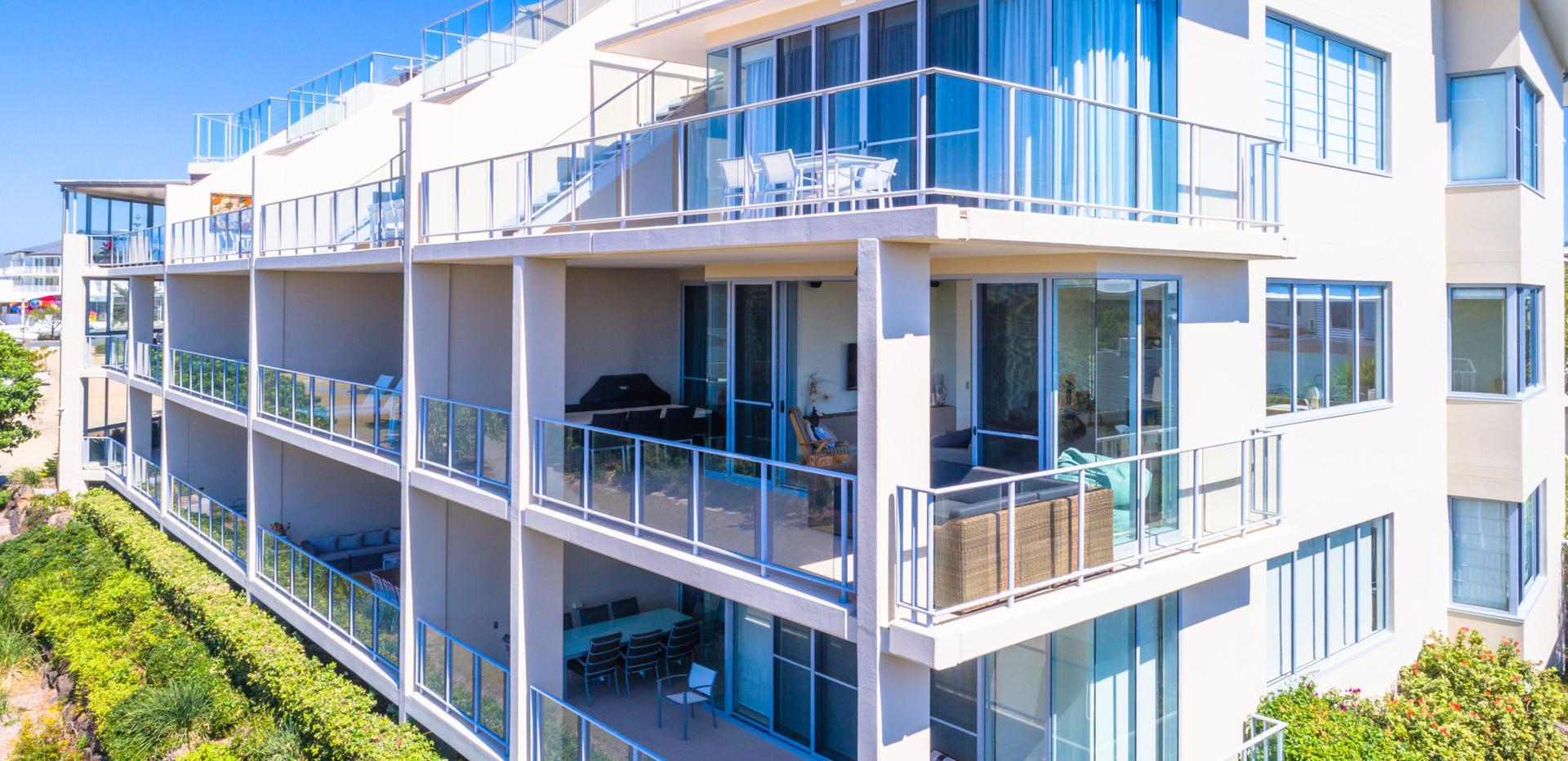Level 1 Corner Apartment