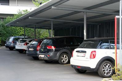 Parkplätze Garni Seehof