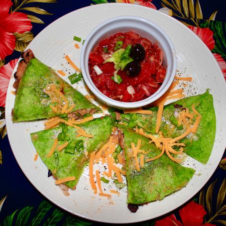 BBQ Jackfruit Quesadillas