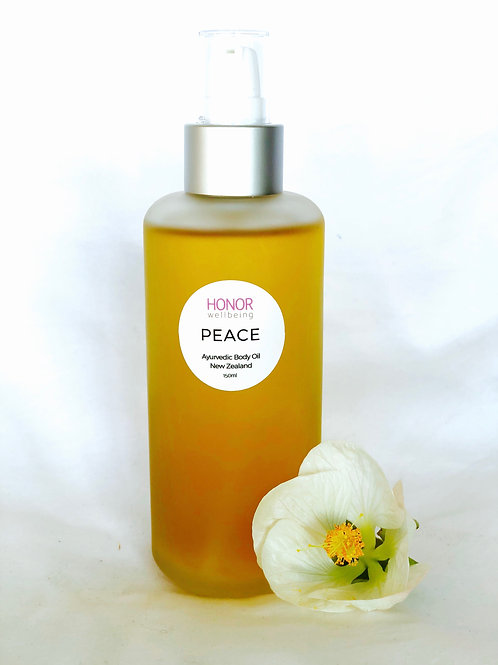 Peace body oil