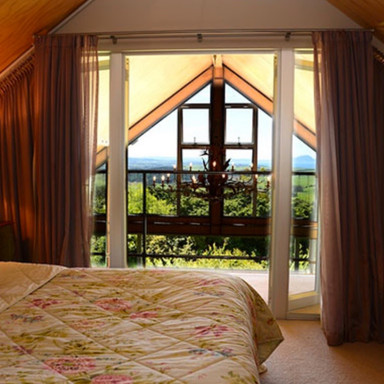 Panoramic Bedroom Views