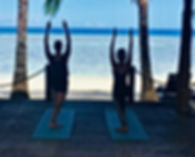 Yoga retreat NZ, Rarotonga, Cook Islands, wellness retreat, beach, yoga, mindfulness, meditation, detox retreat, yoga workshop
