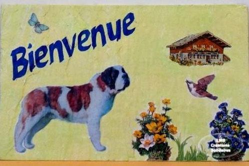 LMB Créations Solidaire - Ardoise Saint Bernard