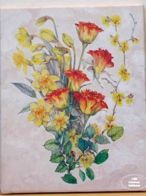 LMB Créations Solidaire - Tableau Bouquet