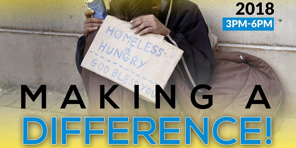 Oceanfront Homeless Feeding