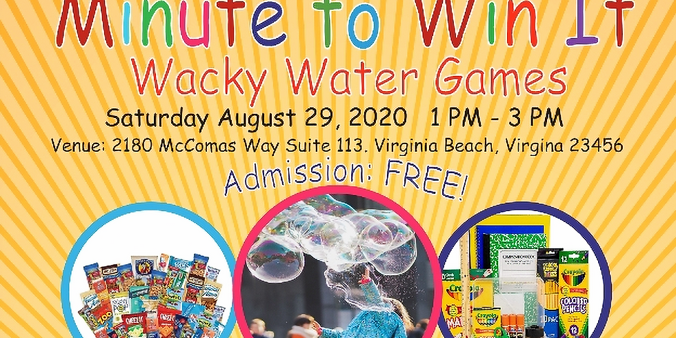 Back to School Wacky Water Games!
