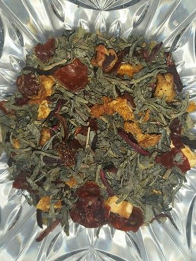 Green Tea Passion Berry Blend