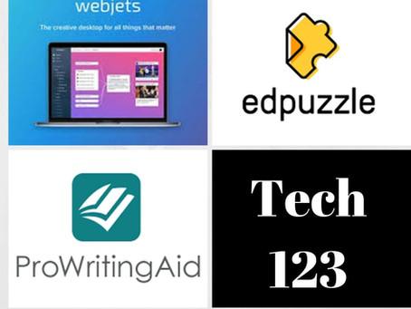 Webjets, Edpuzzle, ProWritingAid