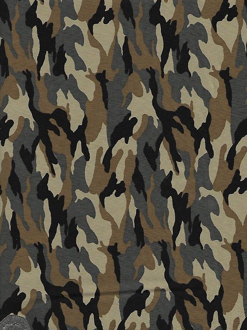 Forest Camouflage A0356 Rose & Hubble