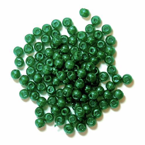 3mm Pearl Beads Green CF01/35304 7g