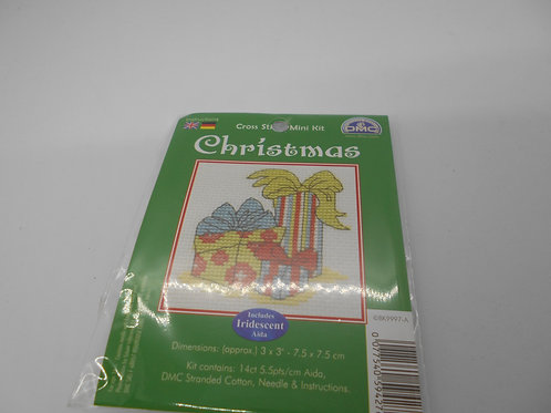 Mini Cross Stitch - Christmas Presents