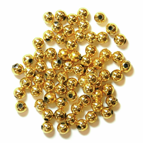 4mm Pearl Beads Gold CF01/35402 7g