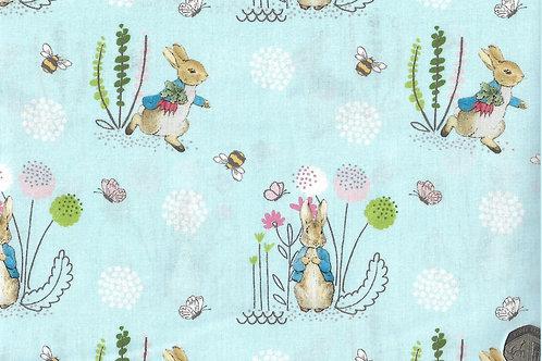 Peter Rabbit on Blue A0402