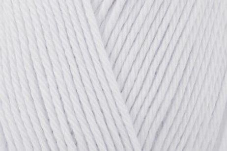 James C Brett Its Pure Cotton col IC04 White 100g