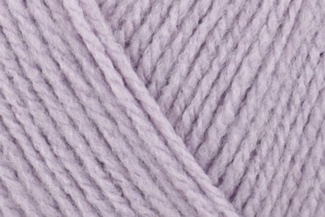 James C Brett Top Value DK col 8464 Soft Purple 100g