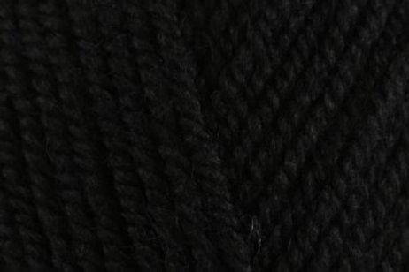 James C Brett with Wool Aran 400g 4AR27 Black