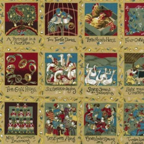 Twelve Days of Christmas Nutex C0030