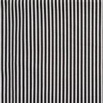 Thin Black & White Stripe Nutex 80490 105 A0333