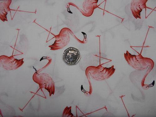 Flamingos on White Nutex A0344