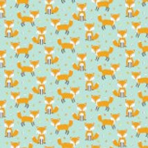 Woodland Friends (Foxes) Nutex 89840 103 A0345