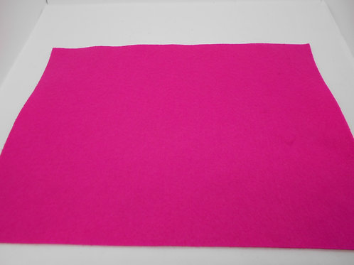 Hot Pink Felt Square