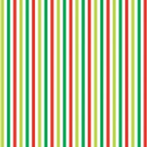 Green, Red & White Stripe Nutex 89320 106 C0041