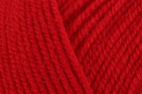 James C Brett with Wool Aran 400g 4AR5 Red