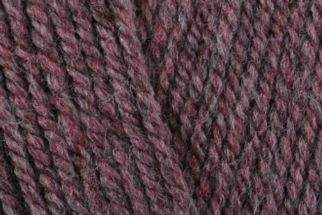 James C Brett with Wool Aran 400g  4AR83 Pink Heather