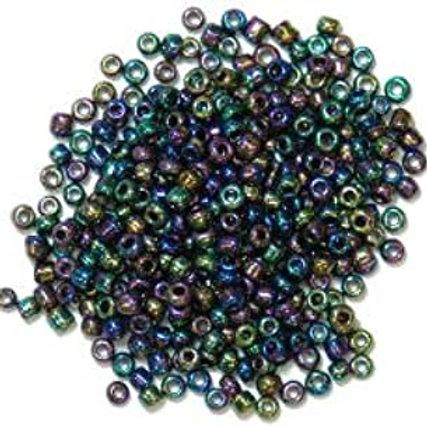 2mm Seed Beads Rainbow CF01/20036 15g