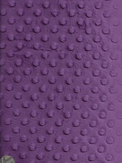 Purple Dimple Fleece F0014
