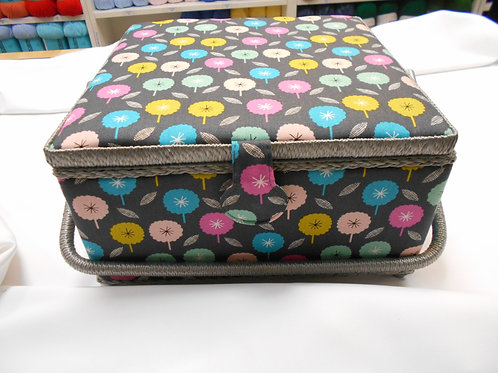 'Flowers' Sewing Box